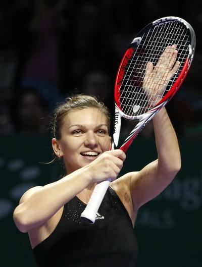 Halep lần đầu vào chung kết do Serena Williams bỏ cuộc