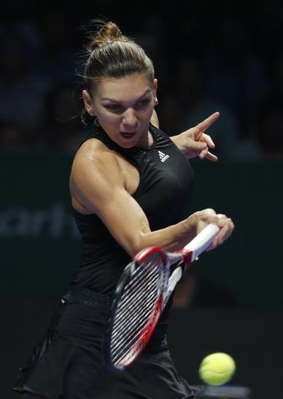 Simona Halep chia tay giải đấu từ vòng 1