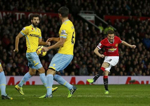 Juan Mata ghi bàn duy nhất cho Man United