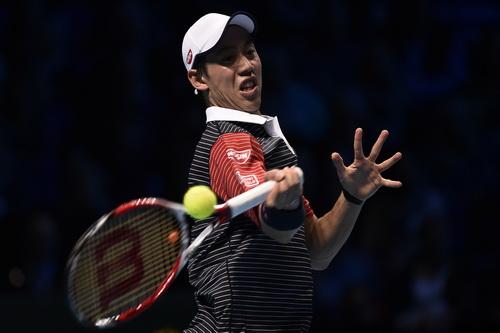 Chấn thương cổ tay khiếnn Nishikori gặp bất lợi khi đối đầu với Federer