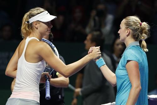 Thất bại tâm phục khẩu phục của Sharapova trước Kvitova