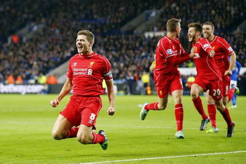Gerrard ghi bàn, niềm vui trở lại với Liverpool