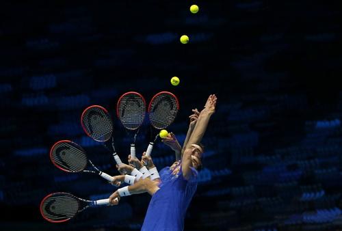 Một pha giao bóng đẹp của Marin Cilic