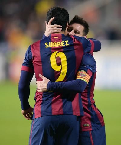 Messi sẽ còn thăng hoa khi xung quanh anh là những đồng đội tài năng như Suarez