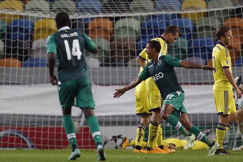 Nani tỏa sáng trong chiến thắng của Sporting Lisbon