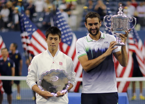 Khác biệt tầm vóc, thể lực không ngăn Nishikori trở thành tay vợt châu Á đầu tiên vào chung kết Grand Slam