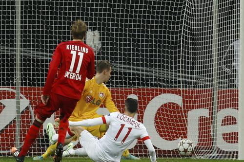 Ocampos (11) ghi bàn duy nhất cho Monaco