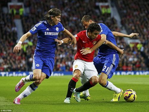Man United gặp khó khăn trước Chelsea ở hiệp một và đầu hiệp hai