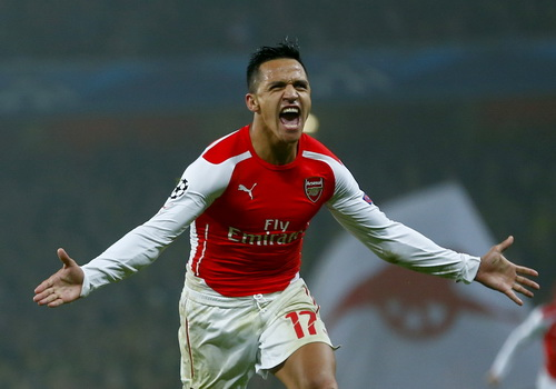 Alexis Sanchez tỏa sáng trong màu áo Arsenal