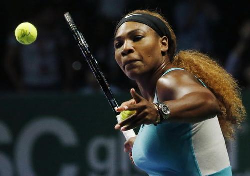 Serena là tay vợt nữ hàng đầu nhận lời tham dự giải