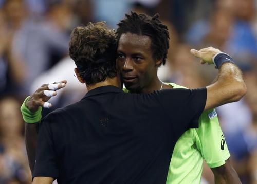 Người hâm mộ tiếc cho Monfils và khâm phục tài năng Federer