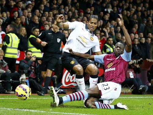 Man United gặp khó với lối chơi phòng ngự phản công săc sảo của Aston Villa