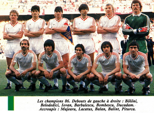 Đội hình vô địch Cúp C1 châu Âu 1986 của Steaua Bucharest
