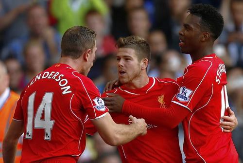 Niềm vui chiến thắng Liverpool