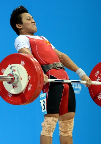 Nguyễn Trần Anh Tuấn giành HCB cử tạ hạng 56kg nam