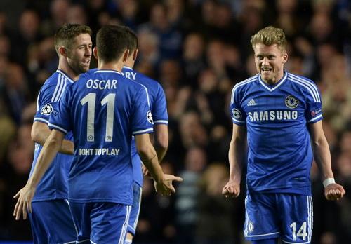 Chelsea tự tin vào bán kết