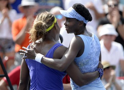 Tay vợt số 1 thế giới Serena phải nhường bước cô chị thi đấu đầy quyêt tâm