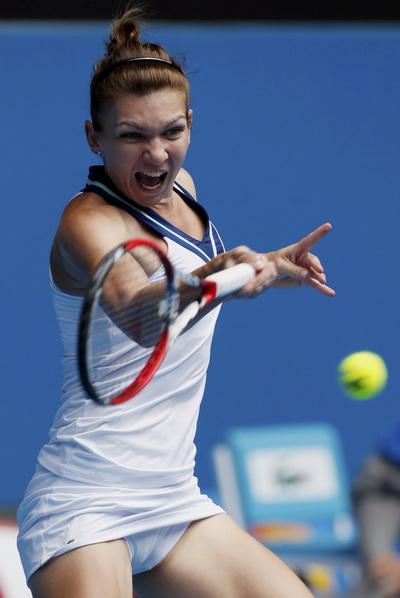 Tay vợt 22 tuổi Simona Halep chờ lập đại công