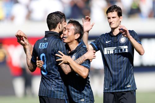 Inter là đội giành chiến thắng sau cùng trên chấm đá luân lưu