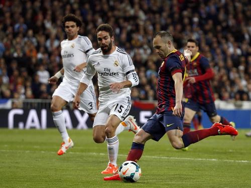 Iniesta mở tỉ số sớm cho Barcelona