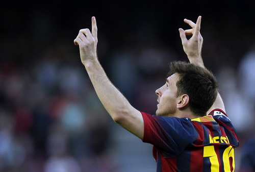 Messi là biểu tượng thành công ở Barcelona