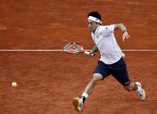 Nishikori thi đấu thăng hoa tại Madrid Open 2014
