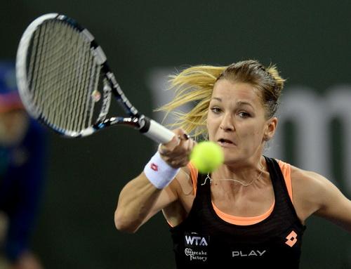 Radwanska vượt qua Bouchard ở vòng 1