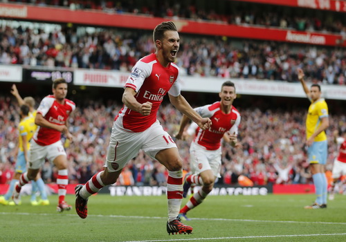Niềm vui Ramsey, niềm vui Arsenal