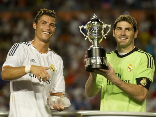 Real Madrid giành chức vô địch năm 2013
