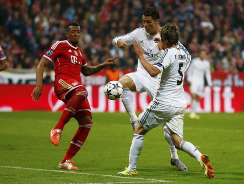 Bayern sớm đánh mất lợi thế sân nhà trước sức mạnh tấn công của Real