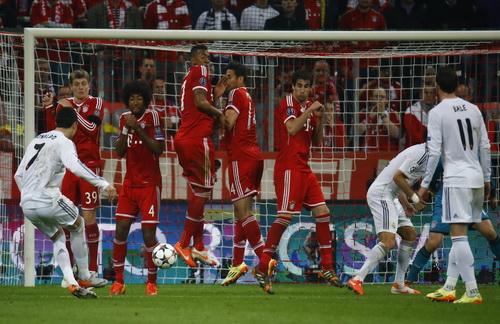 Bàn thắng thứ tư của Real, biến Bayern thành cựu vương
