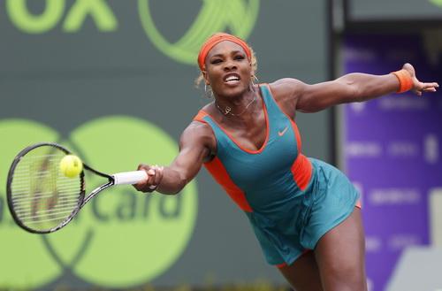 Serena thể hiện phong độ ấn tượng trong trận chung kết