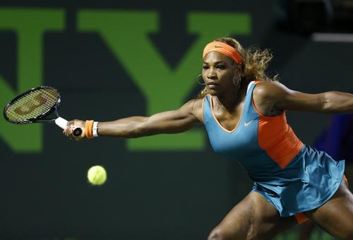 Serena dễ dàng vượt qua vòng một Madrid Open