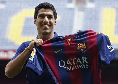 Luis Suarez đã có lễ ra mắt đội bóng mới hôm 19-8