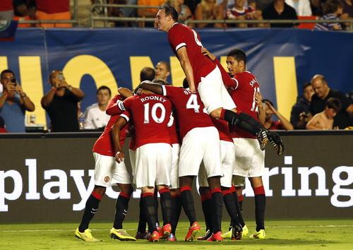 Niềm vui chiến thắng của Man United