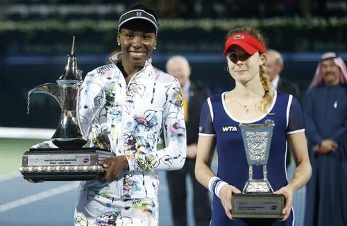 Chiến thắng xứng đáng cho Venus Williams