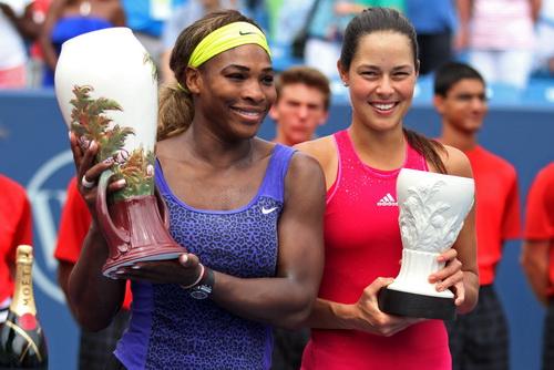 Serena vô địch sau sáu lần góp mặt ở WTA Cincinnati