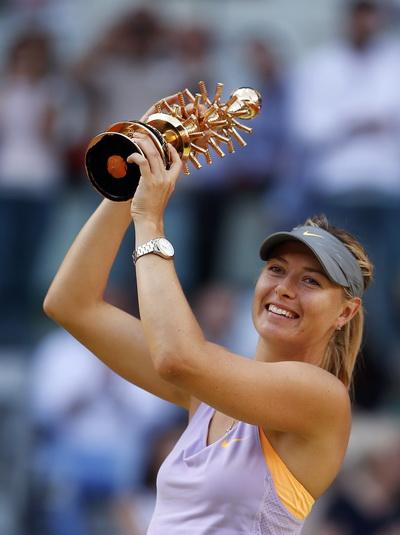 Niềm hạnh phúc với ngôi vô địch tại Madrid Open 2014