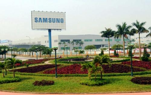 Một nhà máy của Samsung tại Việt Nam
