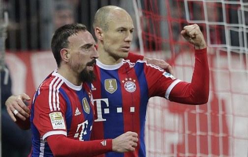 Arijen Robben trong màu áo Bayern Munich