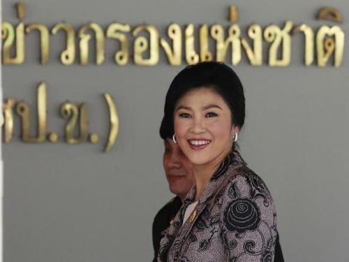 Bà Yingluck khẳng định không có đảo chính. Ảnh: Reuters