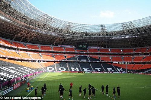 Shakhtar có thể không được thi đấu trên sân nhà trong điều kiện an ninh không đảm bảo như hiện nay