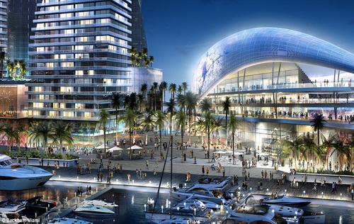Dự án sân bóng sẽ làm thay đổi diện mạo một góc thành phố Miami