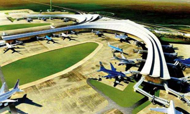 Phối cảnh một góc sân bay Long Thành - Ảnh: T.L