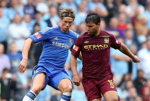 Cả hai chân sút chủ lực F.Torres và S.Aguerro đều vắng mặt