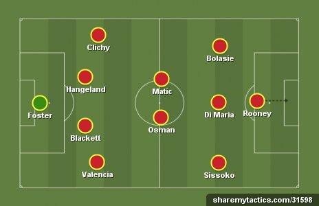 """Đội hình tiêu biểu vòng 12 Premier League: """"Quỷ đỏ"""" ra oai"""
