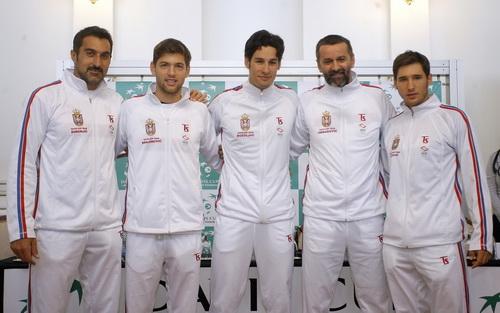 Tuyển Serbia không Djokovic bị đánh giá thấp so với đội khách Thụy Sĩ