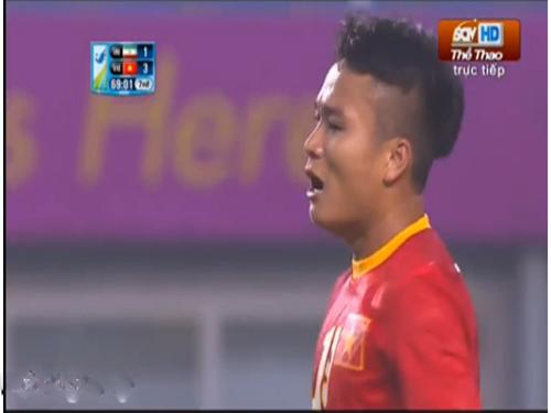 Phi Sơn ghi bàn thắng đẹp mắt cho U23 Việt Nam