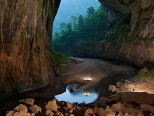 Vẻ đẹp kỳ vĩ của hang Sơn Đoòng Ảnh: NATIONAL GEOGRAPHIC