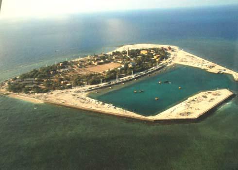 Đảo Song Tử Tây. Ảnh: Flickr